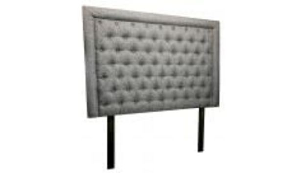 Diamond Mk2 Headboard in Fabric, Biscuit offers at R 2999