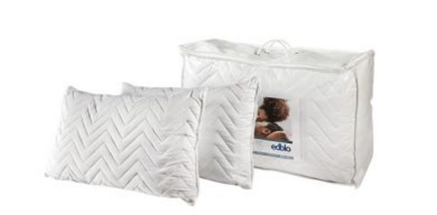 Edblo Quilted Twin Pack Pillows offers at R 299