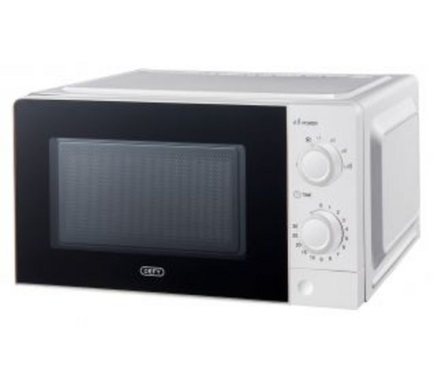 Defy 20LT Manual Microwave DMO384 White offers at R 1099,95