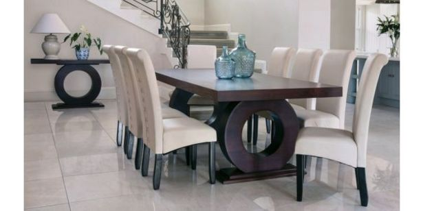 Knight 9 Piece Dining Room Suite, Dark Mahogany (Excludes S offers at R 17999,95