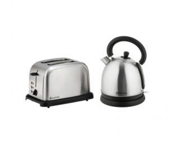 Russell Hobbs Brushed Stainless Steel Breakfast Pack RHBSS56 offers at R 1299,95