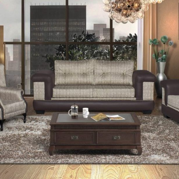 Hera 4Piece 2 x 2 Division Couches plus 2 x Wingback Chairs offers at R 14999