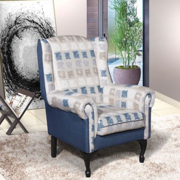 Bella Wingback Chair offers at R 2399