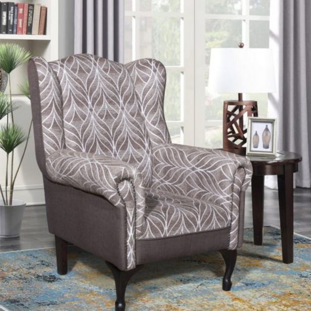 Zea Wingback Chair offers at R 2299