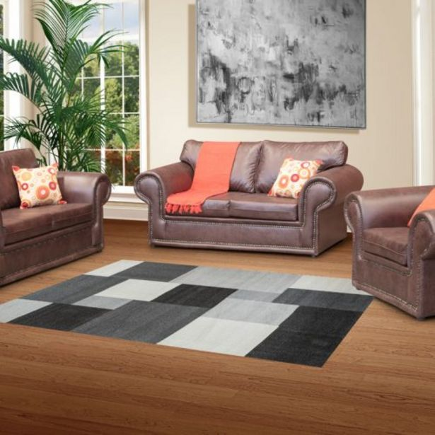 Windsor 3 Piece 221 Lounge Suite – Fabric offers at R 7999