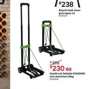 Handtuck foldable STANDERS mini aluminium 30kg offers at R 230
