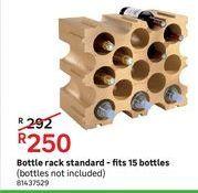 Bottle rack standard- fits 15 bottles offers at R 250