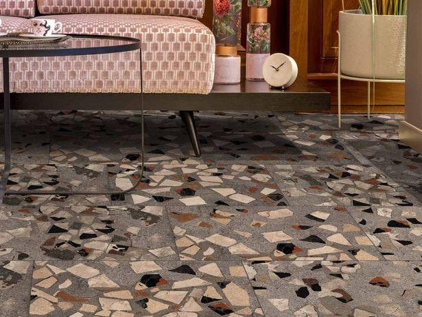 Kilimanjaro Palladiana Grey EcoTec Matt Porcelain Floor Tile - 635 x 420mm offers at R 159,9