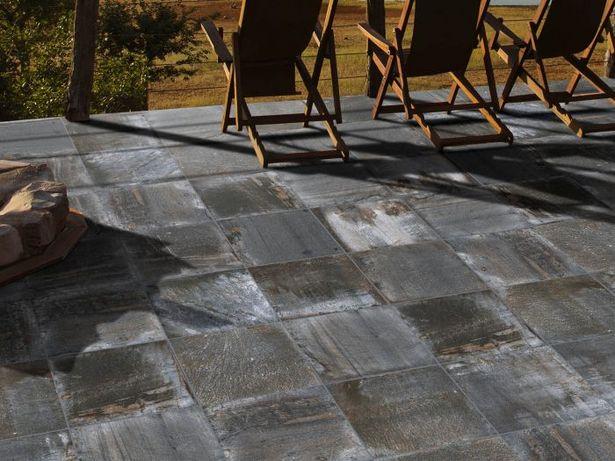 Kilimanjaro Ferro Charcoal Black EcoTec Matt Porcelain Floor Tile - 420 x 420mm offers at R 124,9
