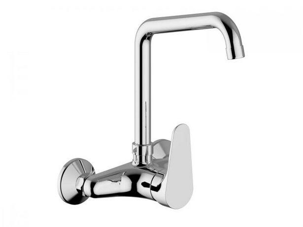 Tivoli Teramo Chrome Sink Mixer Tap Wall Type offers at R 1899,9