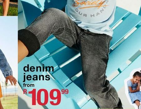 Denim jeans offers at R 109,99