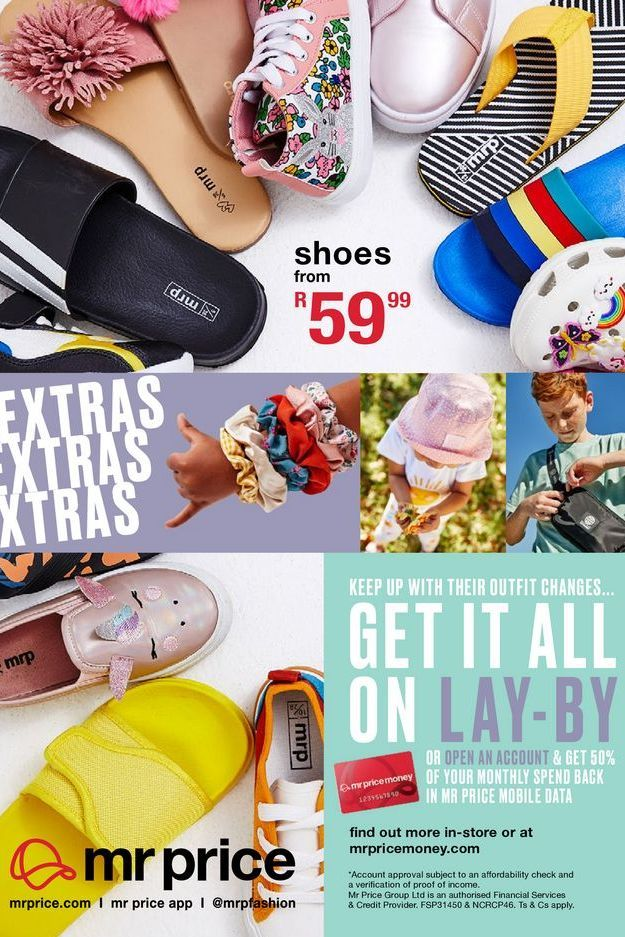 Shoes offers at R 59,99