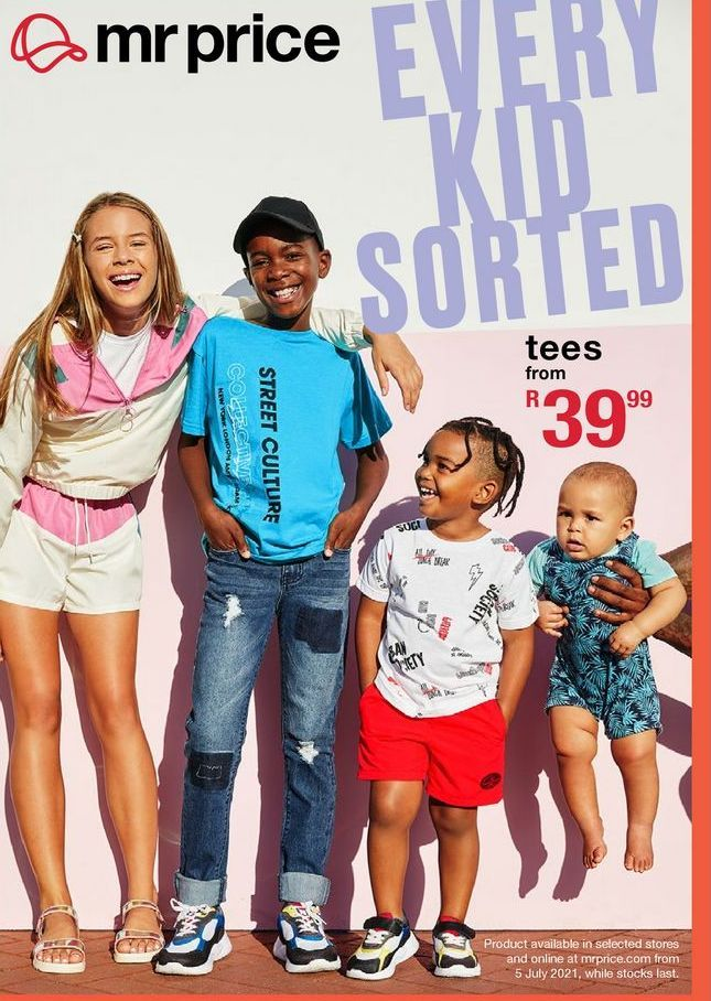 Tees  offers at R 39,99