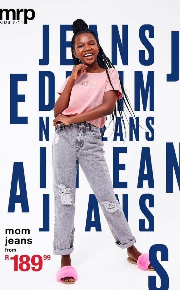 Mom jeans offers at R 189,99