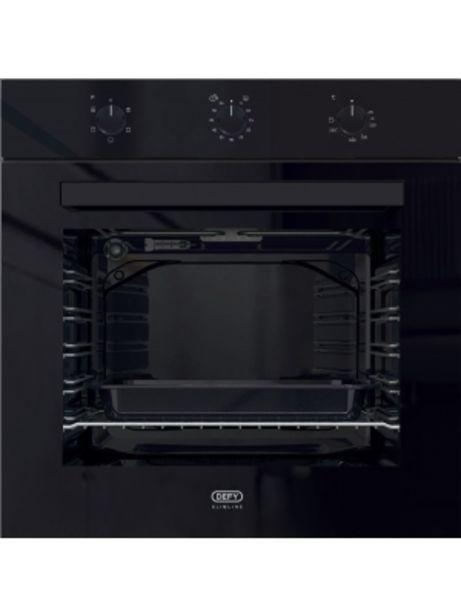 Defy Black Glass Eye Level Oven 600e Dbo483 offers at R 2999