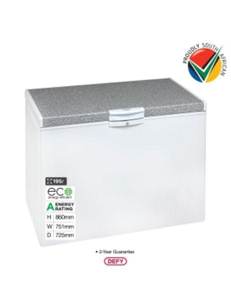 Defy 195lt White Chest Freezer Dmf470 offers at R 3149
