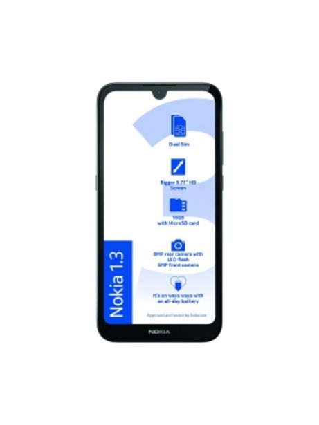 """VODACOM NOKIA 4G/LTE SMART PHONE MODEL 1.3 5.71""""EXCL. S/P offers at R 1599"""