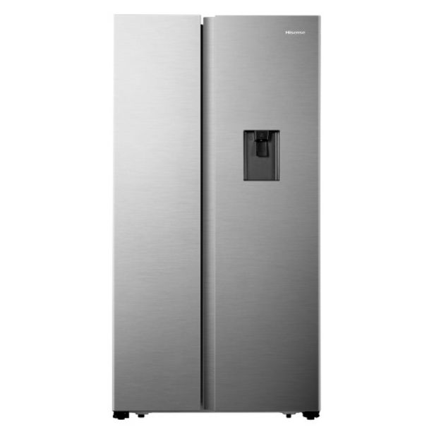 Hisense 516L SIDE BY SIDE FRIDGE INOX H670SIA-WD offers at R 11999