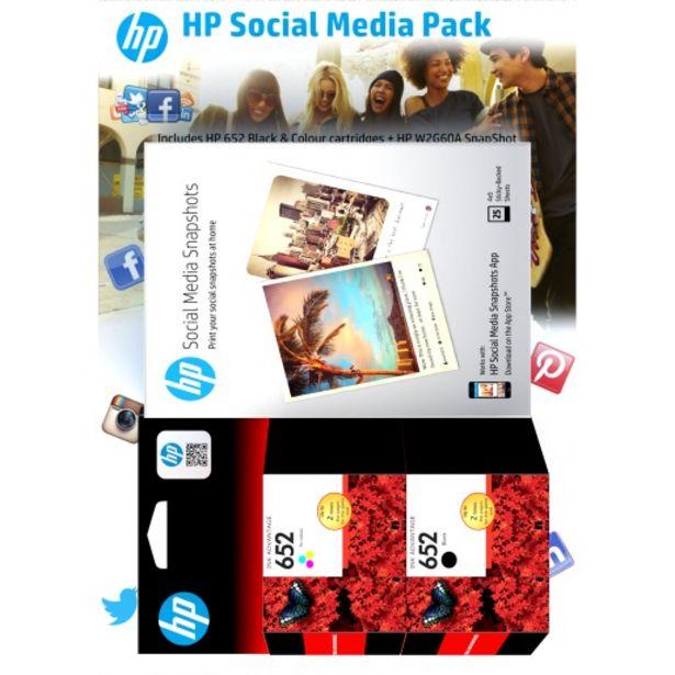 HP 652 Black/Tri-Colour Ink Value Pack F6V25+F6V24+W2G60 offers at R 749