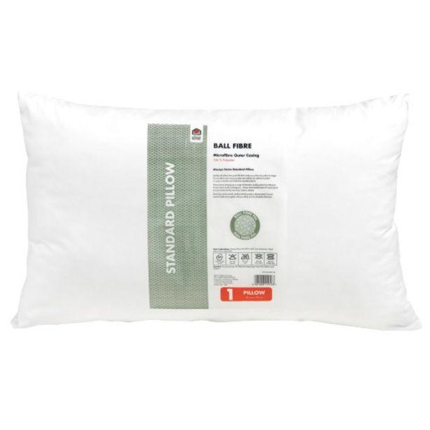 Always Home Standard Ball Fiber Pillow offers at R 69