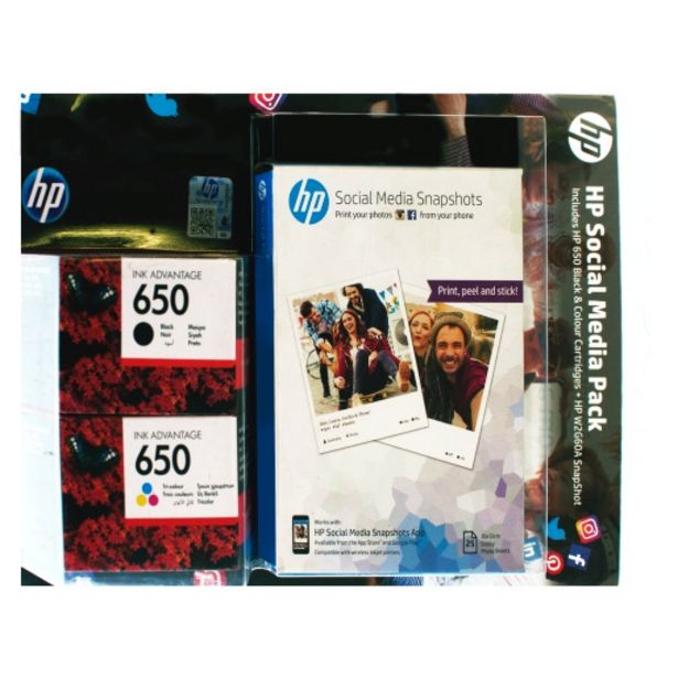 HP 650S Black/Tri-Colour Value Pack CZ101AECZ102AEW2G60 offers at R 699