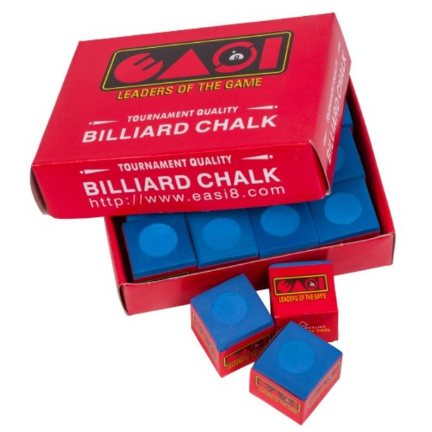 Easi8 5 Pce Billiard Chalk Blue offers at R 29