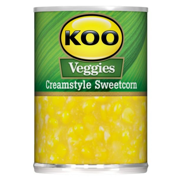 KOO Creamstyle Sweetcorn 415 G offers at R 15,99