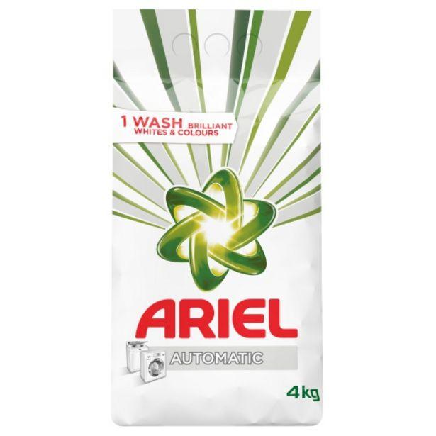 Ariel Auto Washing Powder 4 KG offers at R 109,99