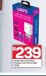 Loopd Charger offers at R 239