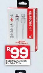 Superfly cable offers at R 99