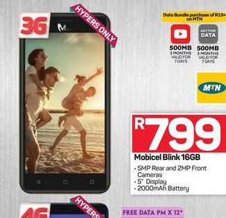Mobicel Blink 16GB offers at R 799