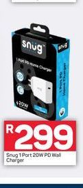 Snug Charger offers at R 299