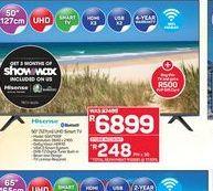 "Hisense 50"" Smart Full HD LED TV offers at R 6899"