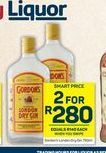 Gordon's Gin 2 offers at R 280