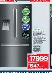 Hisense fridge freezer  offers at R 17999