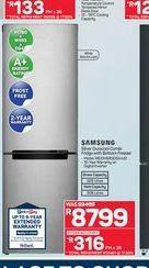 Samsung fridge freezer  offers at R 8799