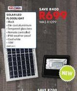 Solar led floodlight offers at R 699