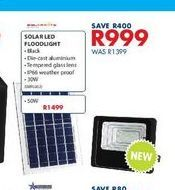 Solar led foodlight offers at R 999