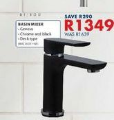 Basin mixer offers at R 1349