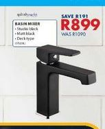 Basin mixer offers at R 899