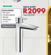 Basin mixer offers at R 2099