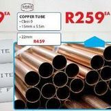 Copper tube offers at R 259