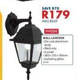 Wall lantern offers at R 179