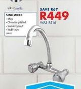 Sinks mixer offers at R 449