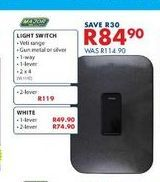 Light switch offers at R 84,9