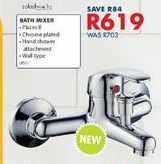 Bath mixer offers at R 619