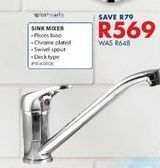 Sink mixer offers at R 569