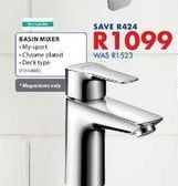 Basin mixer  offers at R 1099