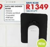 Bath and shower mixer offers at R 1349