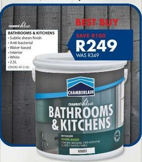 Bathroom & kitchens offers at R 249
